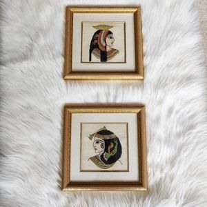 Tom Cross Artist Embroidered Pictures